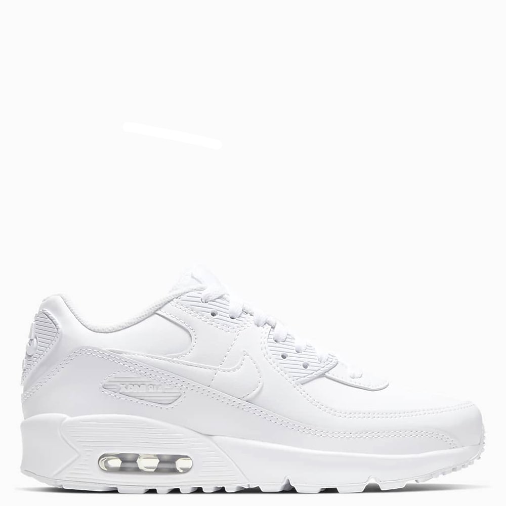 Nike Air Max 90 Leather (All White)