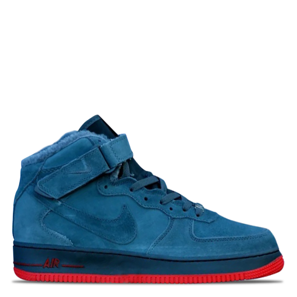 Nike Air Force Winter (Navy/Red)
