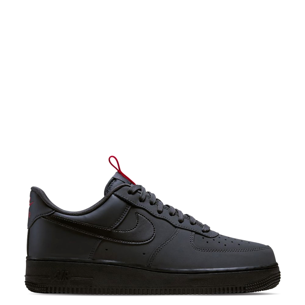 Nike Air Force 07 Anthracite (Black/Red)