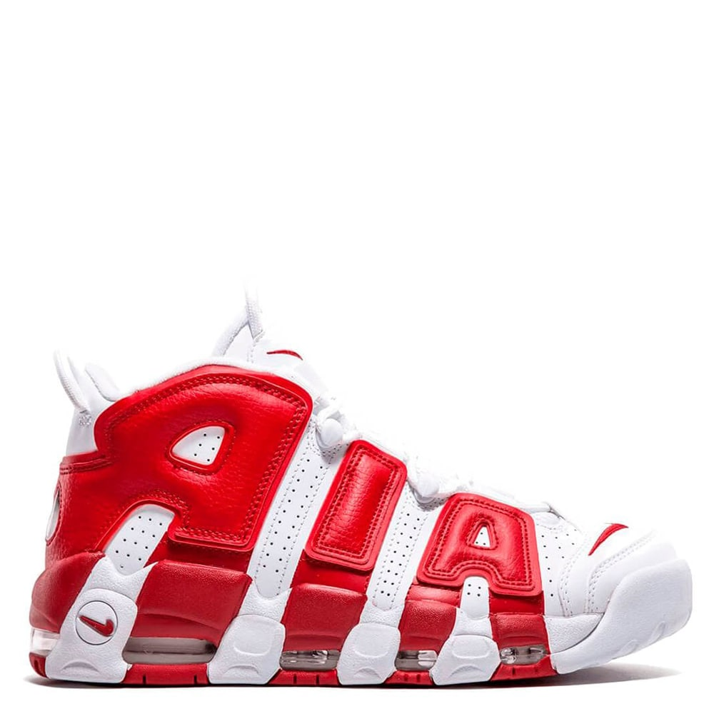 Nike Air More Uptempo (White/Red)