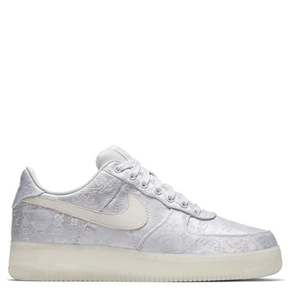 Nike Clot X Air Force 1 Low 1World In White