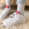 Nike Air Force 1 Lx White Lace (White/Red)